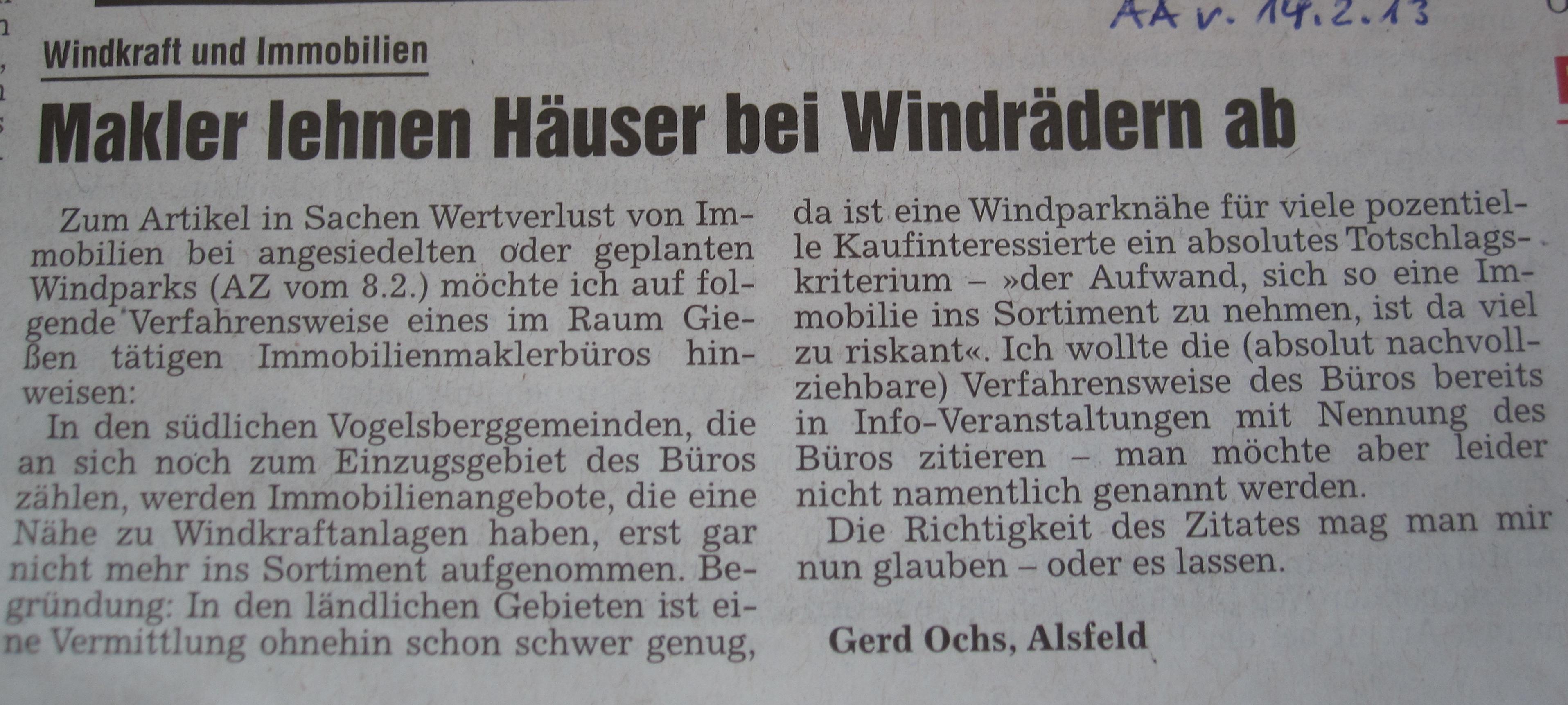 Alsfelder.Allgemeine.Leserbrief.Immobilien.14.02.2013 Kopie