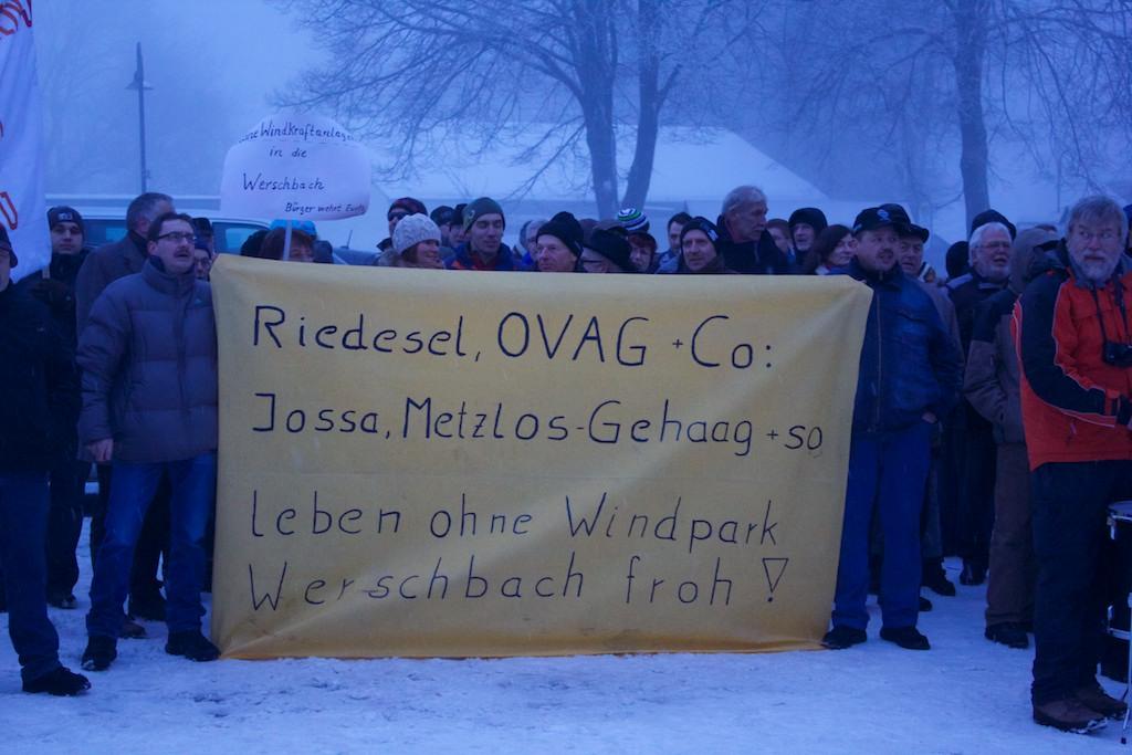 Demo Ulrichstein 2013, Gruppe Werschbach