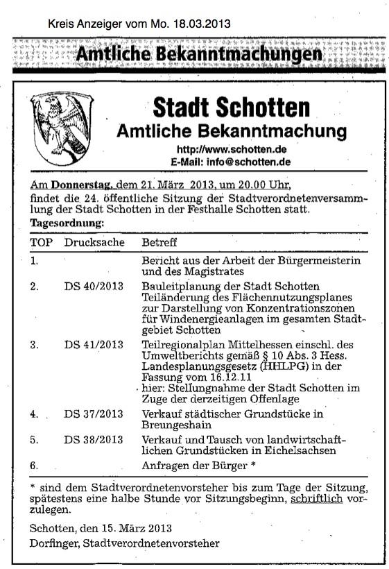 2013.03.18-KA-Schotten-Amtl.Bekanntmachung Stvo.Sitzung