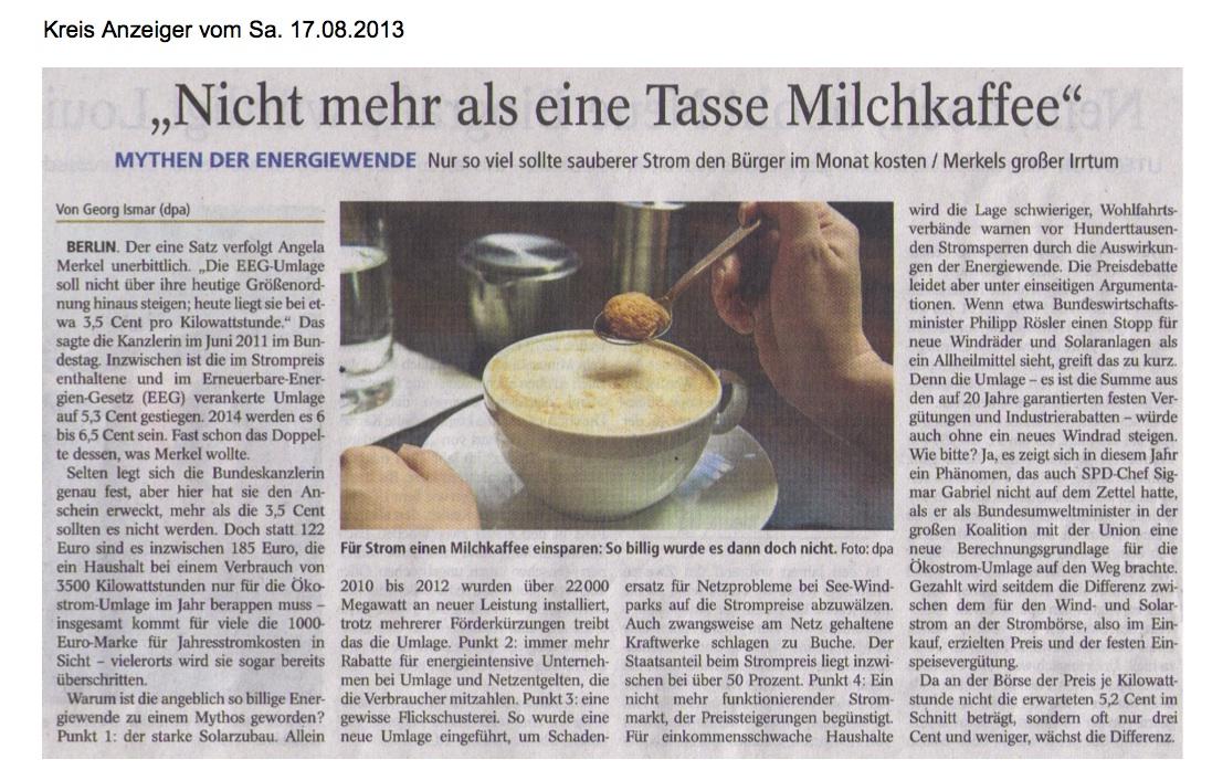 9-1?Q?2013.08.17-KA-Berlin-Nicht_mehr_als_eine_Tasse_Milchkaffee?= -Bisher größtes Investitions-Projekt Kopie