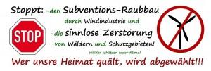 Plakat Gegenwind