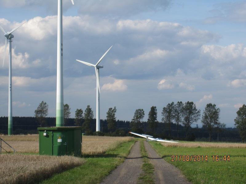 Foto Nr. 2: Gegenwind Vogelsberg