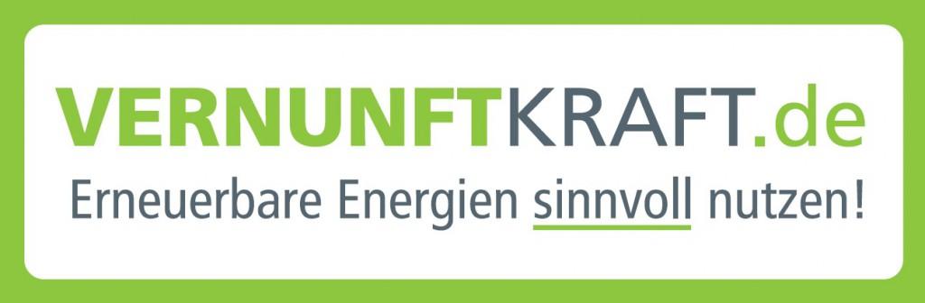 Logo Vernunftkraft, Dachverband für Bürgerinitiativen gegen Windkraft in Deutschland