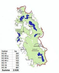 Vorranggebiete Windenergie Nordhessen im Reinhardswald, TRP E Nordhessen